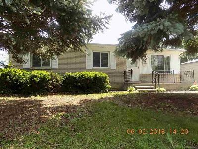 Troy Single Family Home For Sale: 2160 Garry