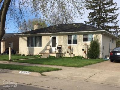Roseville Single Family Home For Sale: 27534 Bohn