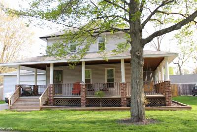 Mount Clemens Single Family Home For Sale: 101 Clair St