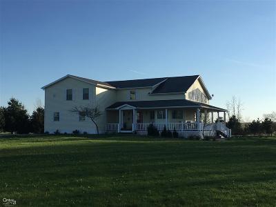 Romeo, Richmond Single Family Home For Sale: 80405 Woodridge