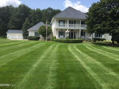 Romeo, Richmond Single Family Home For Sale: 79415 Scottish Hills