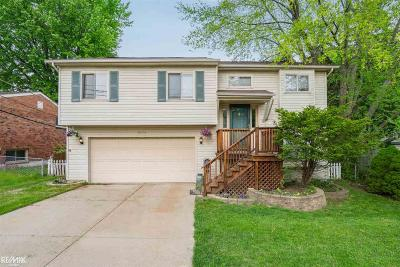 Utica Single Family Home For Sale: 45834 Brownell St