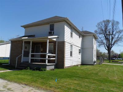 Macomb Multi Family Home For Sale: 8206 Rivard Ave
