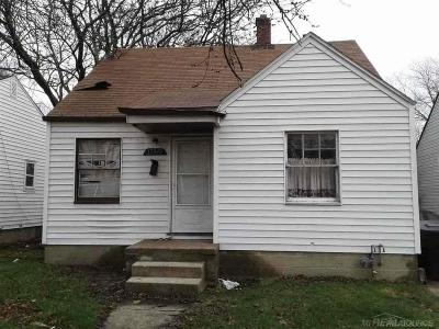 Detroit Single Family Home For Sale: 12848 Gable