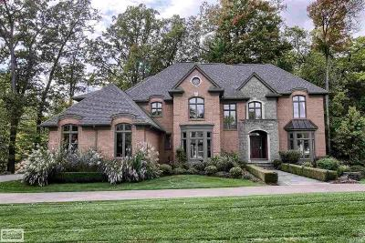 Rochester Hills Single Family Home For Sale: 1589 Scenic Hollow Drive