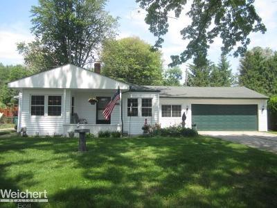Harrison Twp Single Family Home For Sale: 27877 Ponchartrain Street