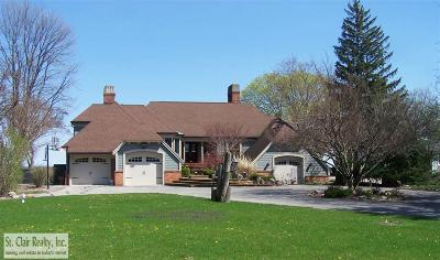St. Clair Single Family Home For Sale: 4441 Clarke Dr.