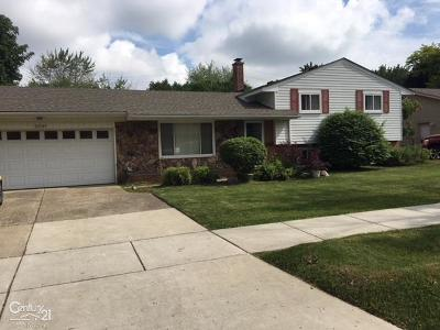 Clinton Township Single Family Home For Sale: 23147 Demley