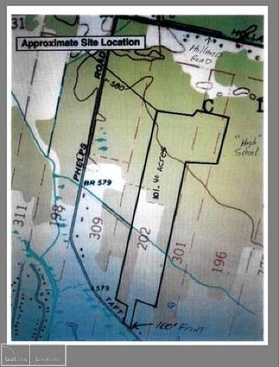 Clay Twp Residential Lots & Land For Sale: 9425 Phelps