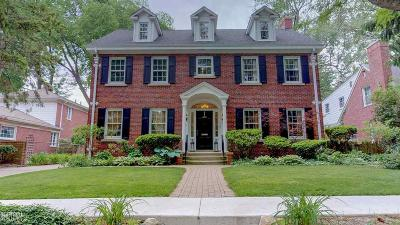 Grosse Pointe Farms Single Family Home Sold: 71 Moross