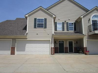 Shelby Twp Condo/Townhouse For Sale: 55543 Ambassador