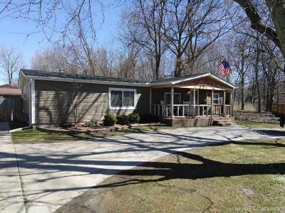 Algonac  Single Family Home For Sale: 4930 Taft Street
