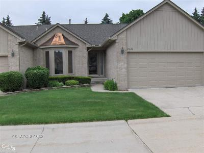 Sterling Heights Condo/Townhouse For Sale: 35128 Moravian Dr