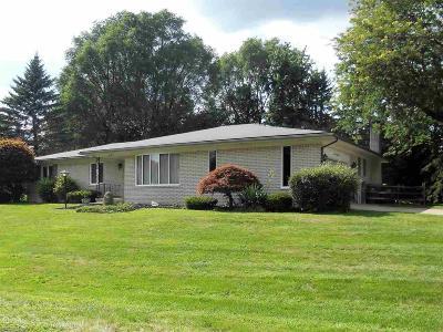 Washington Twp Single Family Home For Sale: 6185 Hickory Lane