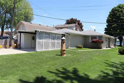 Algonac  Single Family Home For Sale: 9485 Hemenger Court