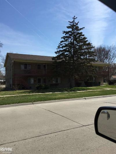Mount Clemens Single Family Home For Sale: 269 Dickinson