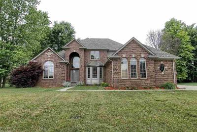 East China Single Family Home For Sale: 1040 Belle River Woods