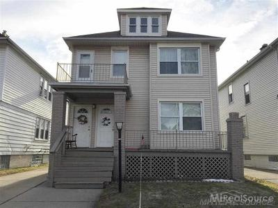 Grosse Pointe Park Multi Family Home For Sale: 1341 Beaconsfield