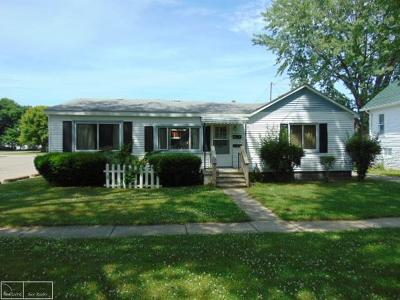 Algonac Single Family Home For Sale: 520 Summer
