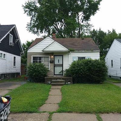 Detroit Single Family Home For Sale: 13336 Tacoma