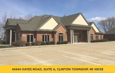 Clinton Township Commercial Lease For Lease: 44444 Hayes
