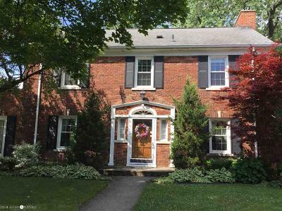 Grosse Pointe Park Single Family Home For Sale: 1165 Harvard