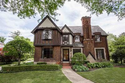 Grosse Pointe Park Single Family Home For Sale: 716 Berkshire