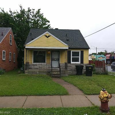 Detroit Single Family Home For Sale: 13600 Tacoma