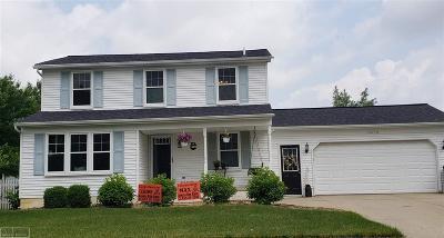 Armada, Armada Twp Single Family Home For Sale: 23743 Colonial