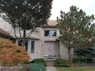 Sterling Heights Single Family Home For Sale: 43194 Gina Drive