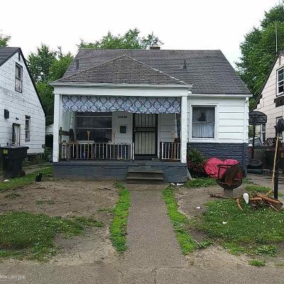 Detroit Single Family Home For Sale: 13430 Tacoma