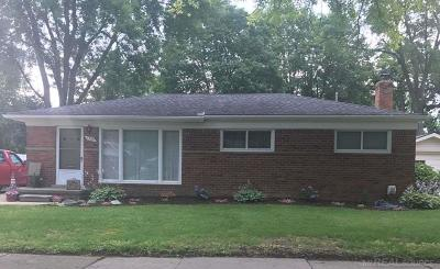 Rochester Hills Single Family Home For Sale: 1380 Sycamore