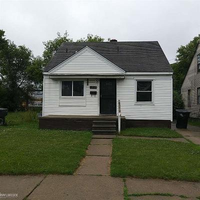 Detroit Single Family Home For Sale: 13540 Tacoma