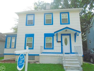 Mount Clemens Single Family Home For Sale: 119 Jones