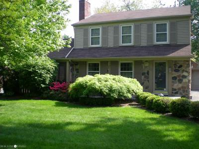 Grosse Pointe Woods Single Family Home For Sale: 1791 Hawthorne Rd