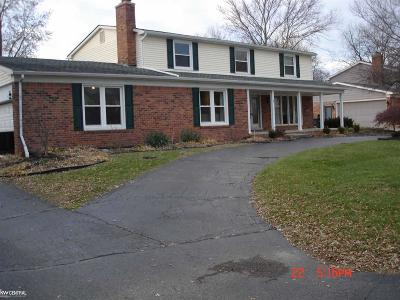 Shelby Twp Single Family Home For Sale: 52147 Belle Vernon