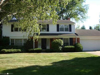 Grosse Pointe Shores Single Family Home For Sale: 33 Willow Tree Pl