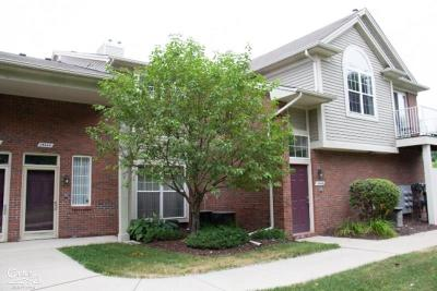 Clinton Township Condo/Townhouse For Sale: 15444 Yale