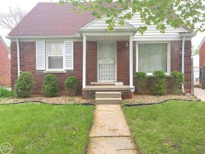 Detroit Single Family Home For Sale: 12674 Riad
