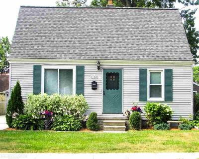 Saint Clair Shores Single Family Home For Sale: 21712 Finlan