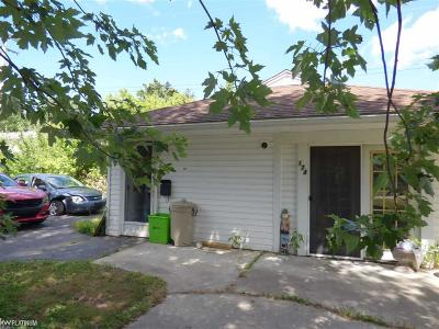 Marine City Single Family Home For Sale: 174 N 5th St