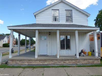 Marine City Single Family Home For Sale: 105 S William Street