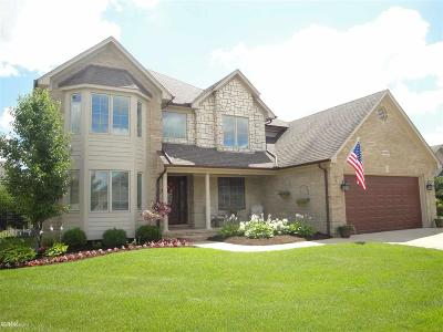Macomb MI Single Family Home For Sale: $369,900