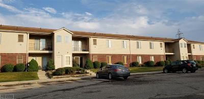 Sterling Heights Condo/Townhouse For Sale: 43226 Fountain