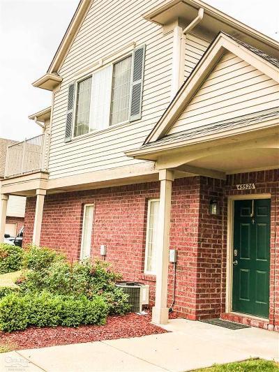 Utica MI Condo/Townhouse For Sale: $149,900