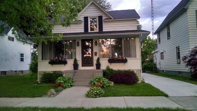 Marine City MI Single Family Home Pending: $149,500