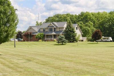 St. Clair Single Family Home For Sale: 4800 Martin Rd