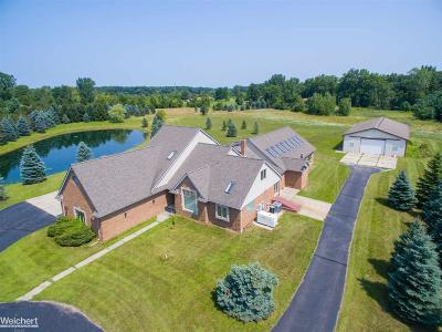 Macomb Single Family Home For Sale: 62452 Schoenherr