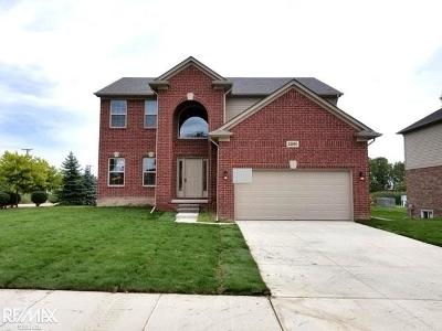 Chesterfield Twp MI Single Family Home For Sale: $329,900