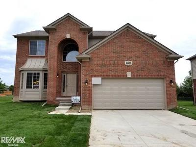 Chesterfield Twp MI Single Family Home For Sale: $331,900
